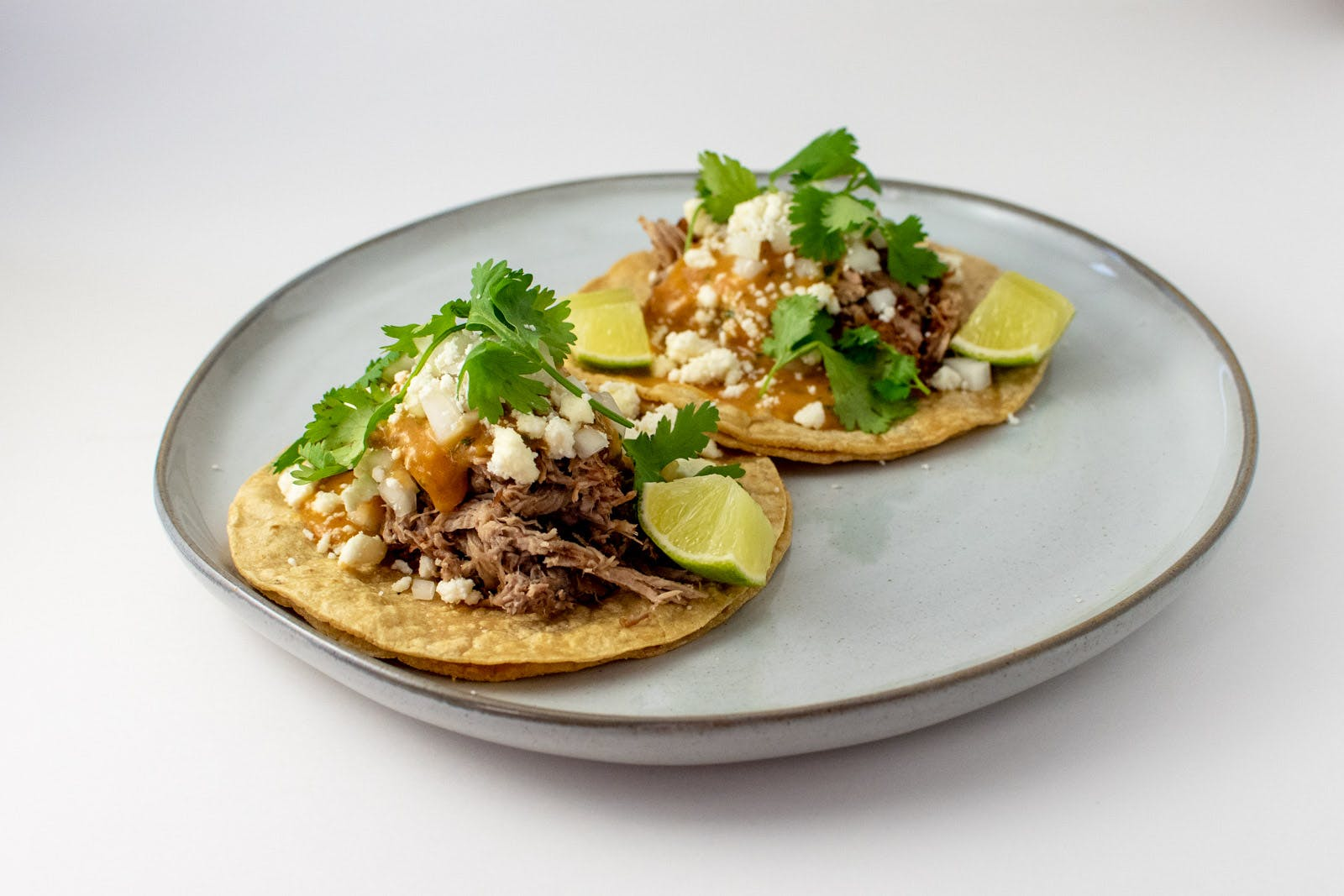 Cola Braised Pork Carnitas Tacos from Taco Royale - Eastside Madison in Madison, WI