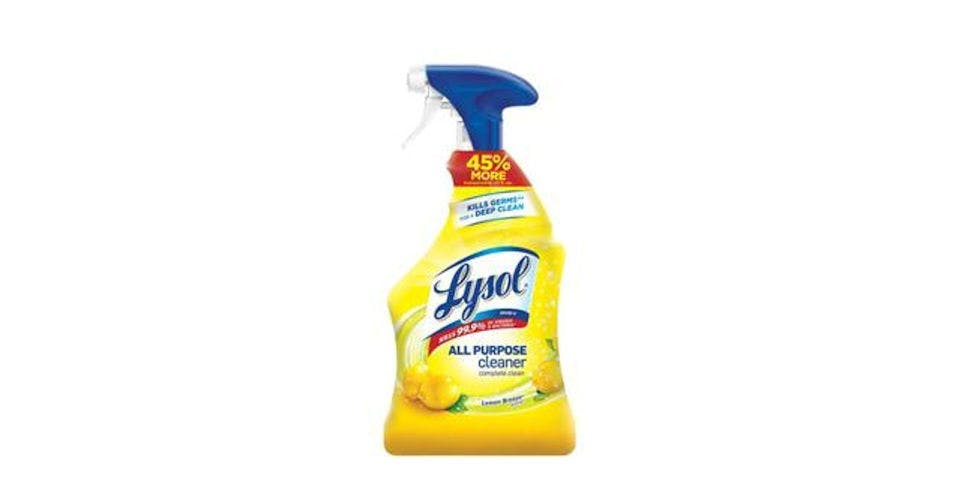 Lysol All Purpose Cleaner Lemon Breeze (32 oz) from CVS - Main St in Green Bay, WI