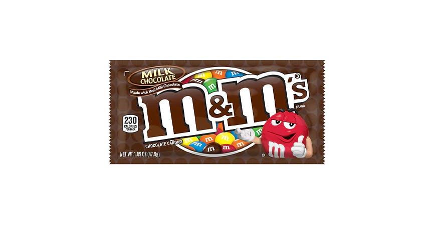 M&M's Milk Chocolate Candy Milk Chocolate (2 oz) from EatStreet Convenience - W Mason St in Green Bay, WI