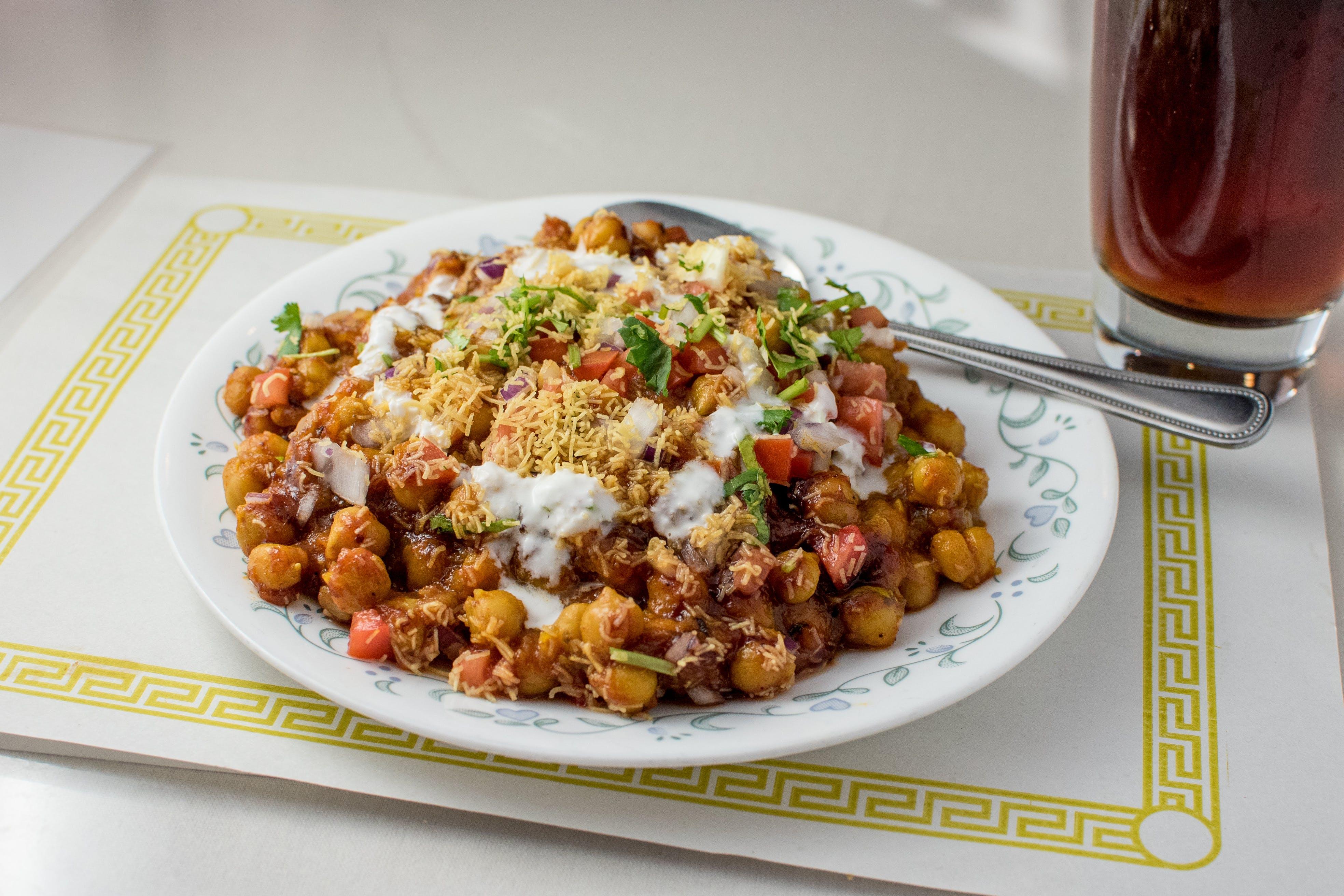 Aloo Tikki Chat from Maharani Restaurant in Madison, WI