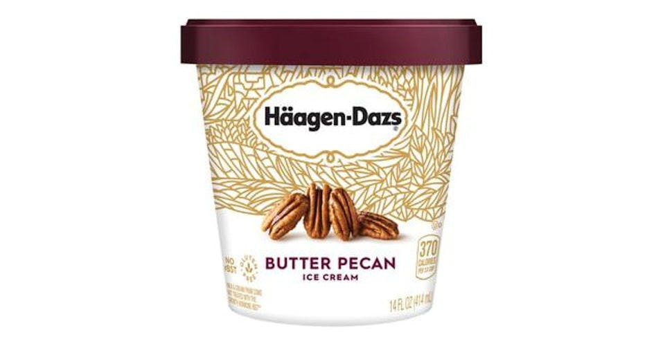 Haagen Dazs Butter Pecan Ice Cream (14 oz) from CVS - Main St in Green Bay, WI