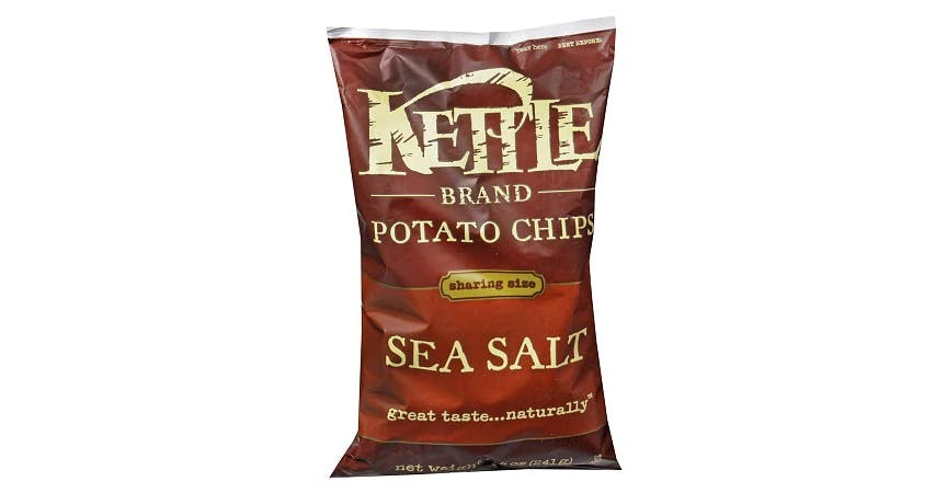 Kettle Chips Potato Chips Sea Salt (8 oz) from EatStreet Convenience - W Mason St in Green Bay, WI