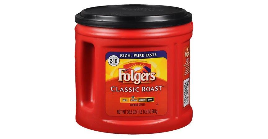 Folgers Coffee Classic Roast (30 oz) from EatStreet Convenience - W Mason St in Green Bay, WI