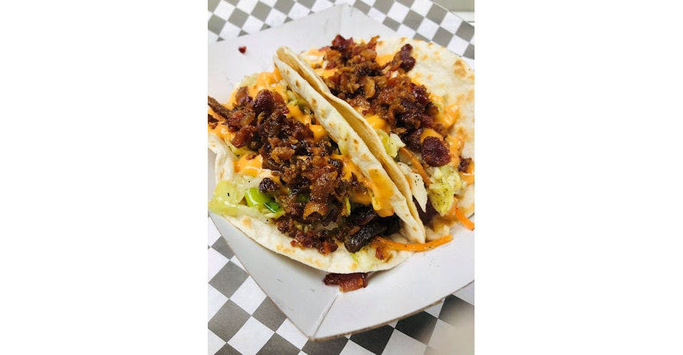 Irish Pig Tacos (2) from The Truck Stop in Milwaukee, WI