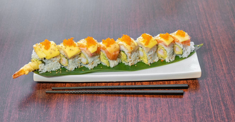 Awesome Mango Roll from Sakura Sushi in San Rafael, CA