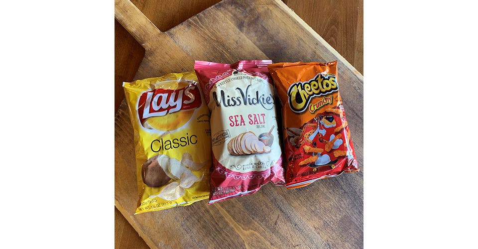 Assorted Chips from Papa Keno's in Lawrence, KS
