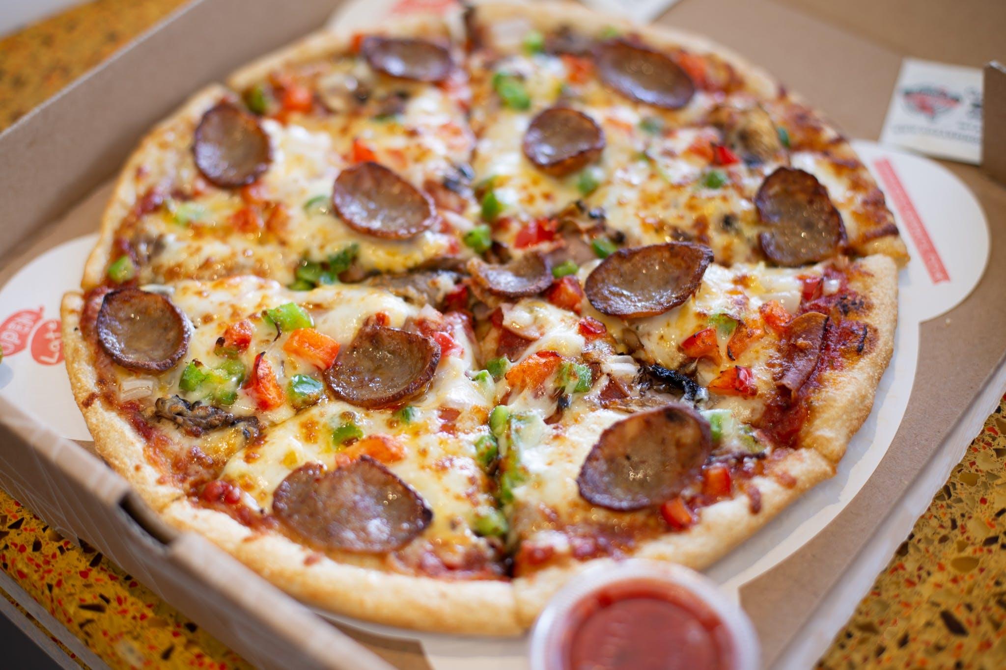 Classico Italiano Pizza from Sarpino's Pizzeria - Washington Ave. in Minneapolis, MN
