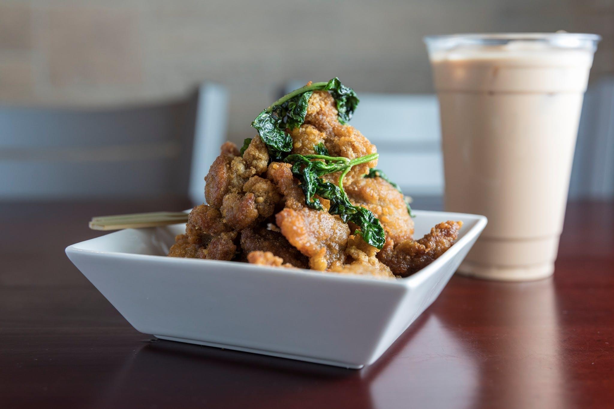 Popcorn Chicken from Jade Dragon Restaurant in Oshkosh, WI