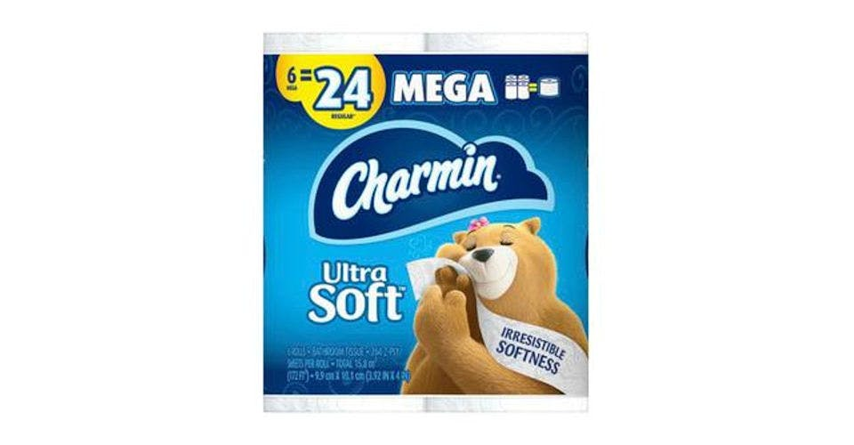 Charmin Ultra Soft Toilet Paper (6 ct) from CVS - Main St in Green Bay, WI
