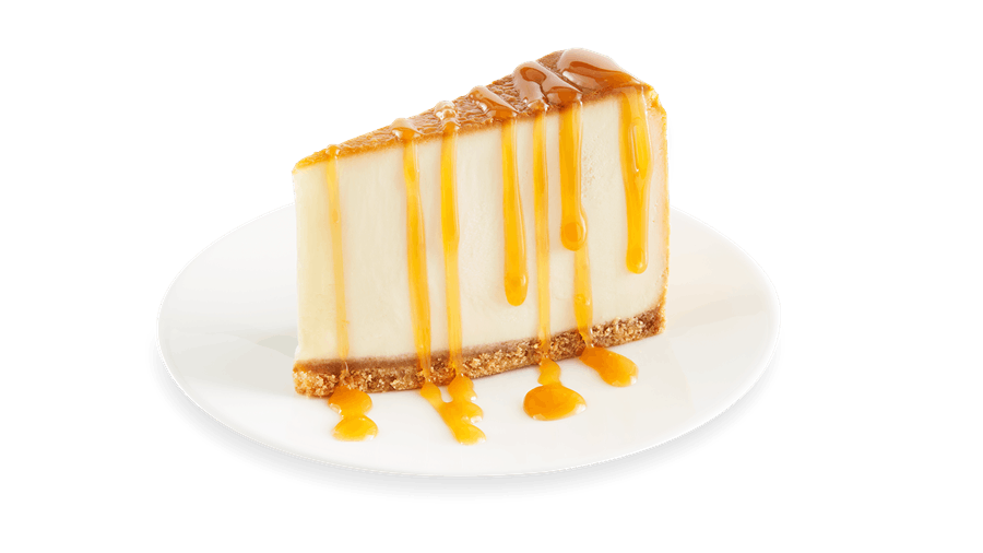 New York-Style Cheesecake with Caramel Sauce from Buffalo Wild Wings - Manitowoc in Manitowoc, WI