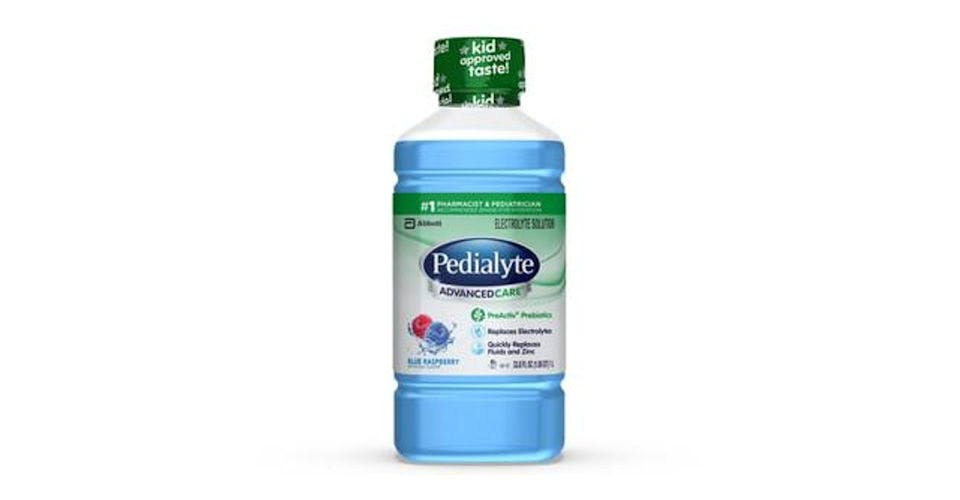 Pedialyte AdvancedCare Electrolyte Solution Blue Raspberry Ready-to-Drink (35 oz) from CVS - Main St in Green Bay, WI