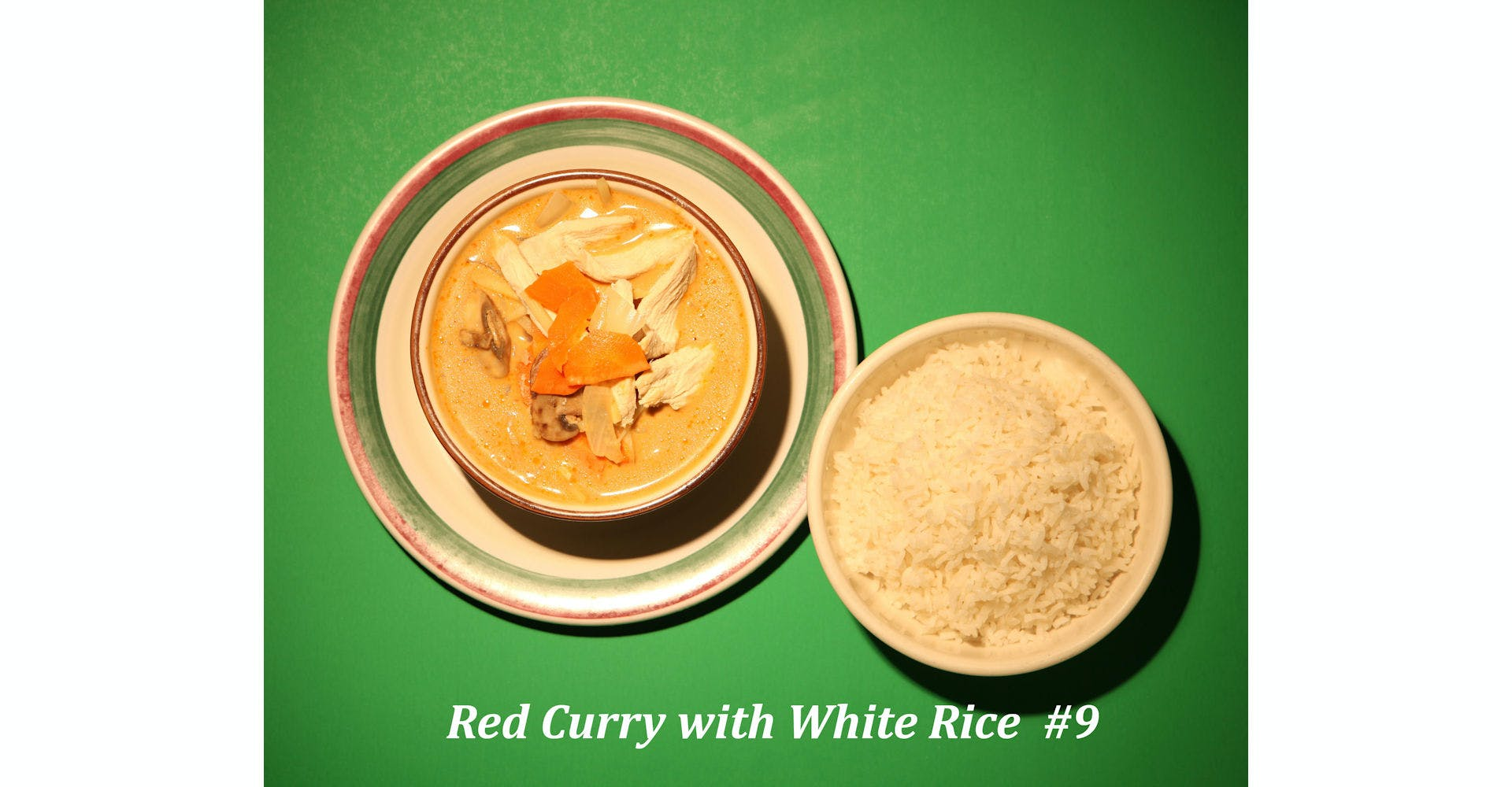 9. Red Curry from Narin's Thai Kitchen in Green Bay, WI