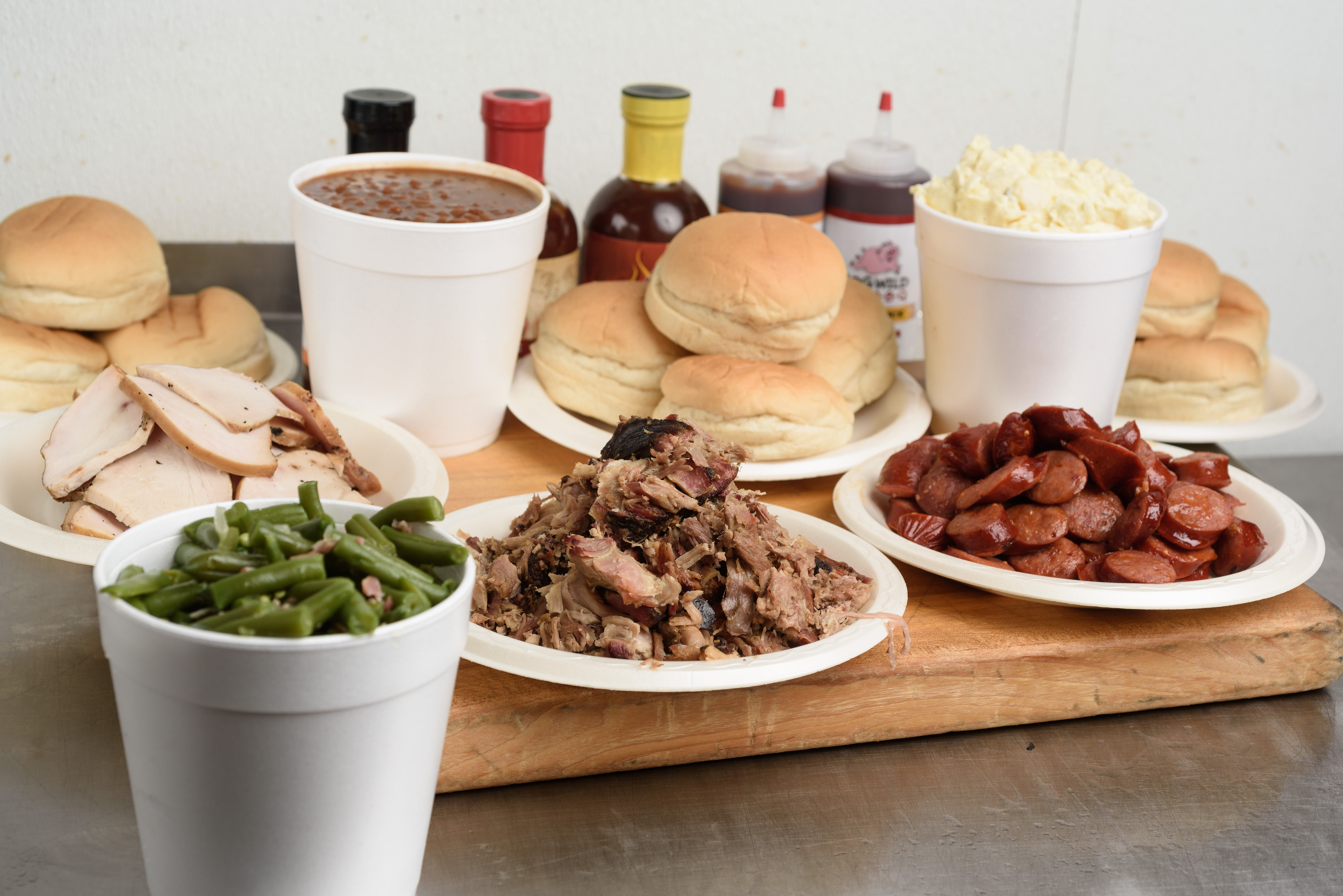 Family Pack #3 from Hog Wild Pit BBQ & Catering in Lawrence, KS