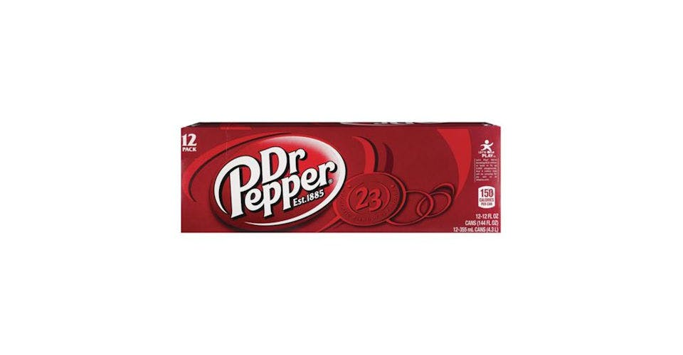 Dr. Pepper Soda 12 oz Cans (12 pk) from CVS - Main St in Green Bay, WI