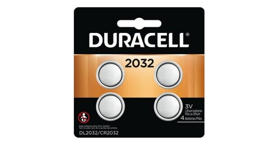 Duracell 2032 3V Lithium Coin Battery (4 pk) from CVS - Main St in Green Bay, WI