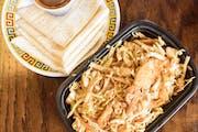 Mu Shu Chicken from Lucky Kitchen - North Campus in Ann Arbor, MI