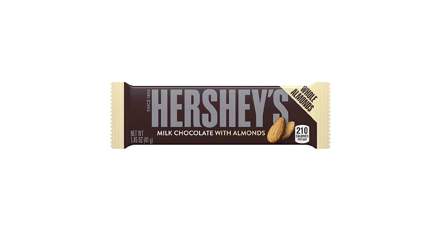 Hershey's Milk Chocolate with Almonds Bar (1 oz) from EatStreet Convenience - W Mason St in Green Bay, WI