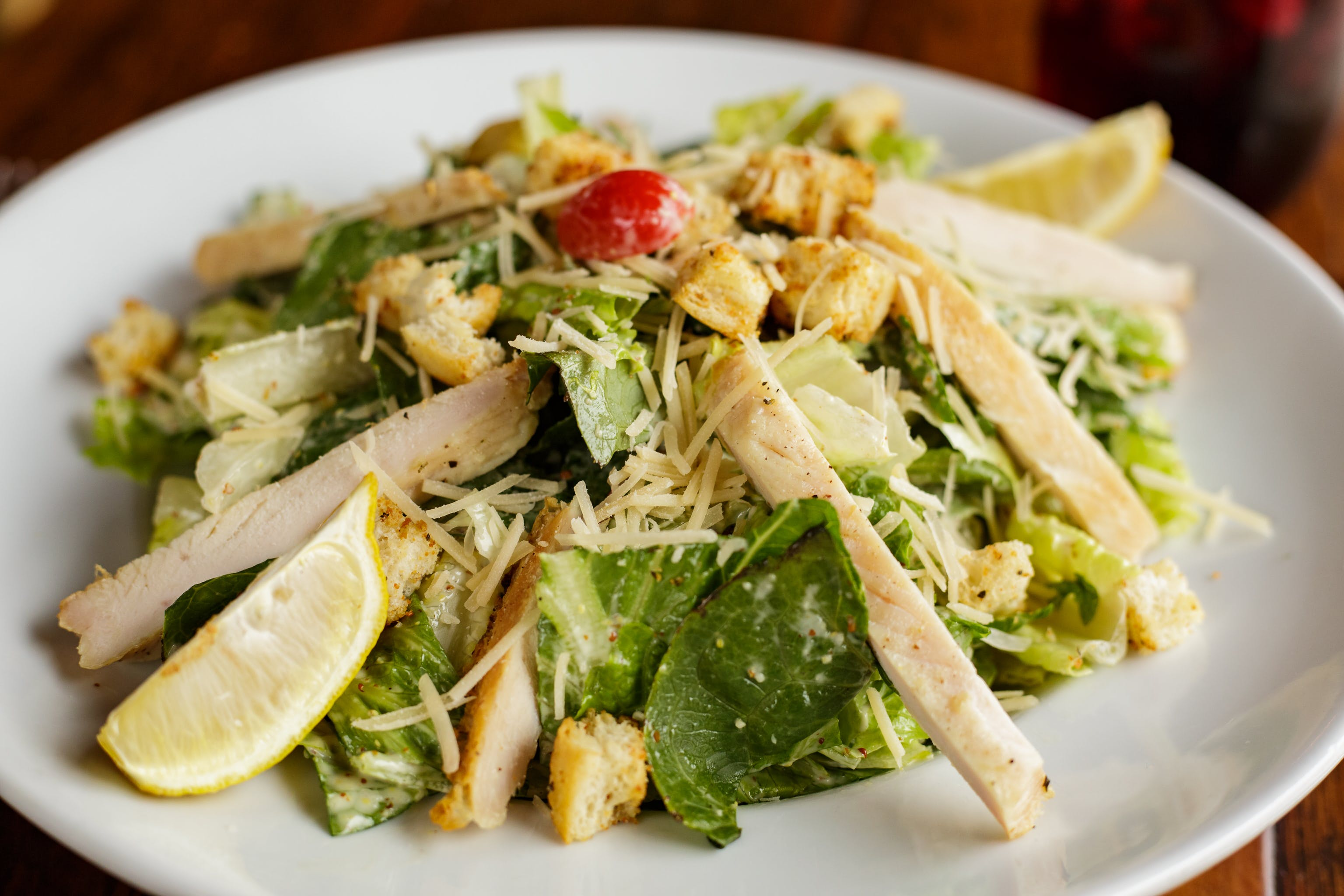 Caesar Salad from Luigi's in Madison, WI