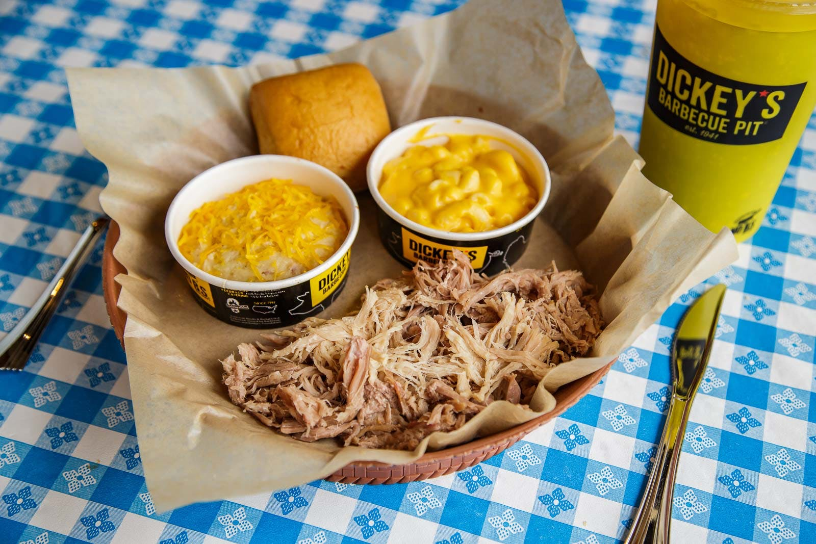 1 Meat Plate from Dickey?s Barbecue Pit - San Marcos in San Marcos, CA