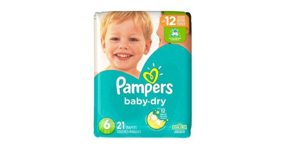 Pampers Baby-Dry Diapers Size 6 (21 ct) from CVS - Main St in Green Bay, WI