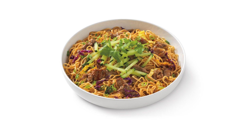 Spicy Korean Beef Noodles from Noodles & Company - Kenosha 118th Ave in Kenosha, WI
