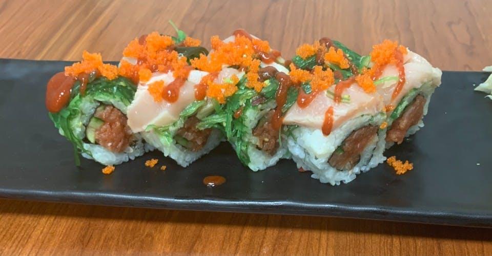 104. Dynamite Roll (8 Pcs) from Oishi Sushi & Grill in Walnut Creek, CA
