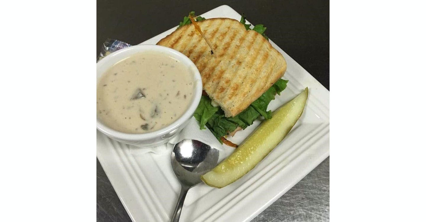 Soup and Half Sandwich from Grazies Italian Grill in Stevens Point, WI