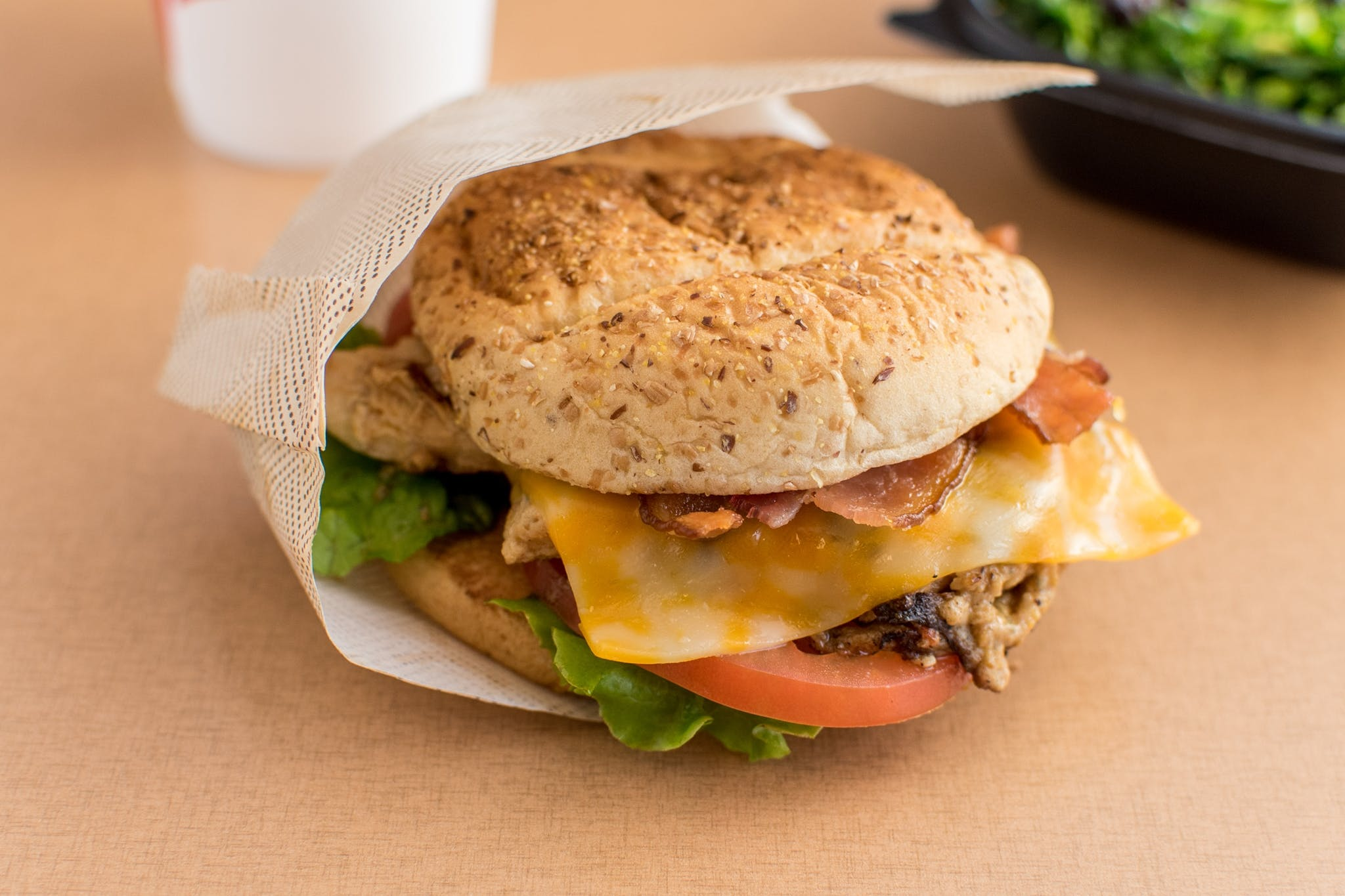 Grilled Chicken Club Sandwich w/ Cheese from Chick Fil A - Kalamazoo in Portage, MI