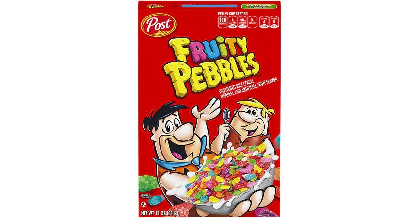 Fruity Pebbles Cereal (11 oz) from EatStreet Convenience - W Mason St in Green Bay, WI
