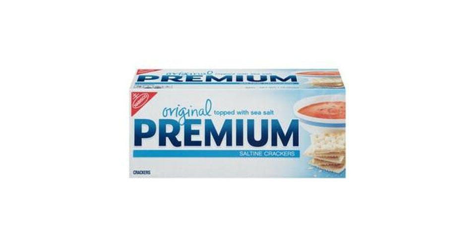 Nabisco Premium Saltine Crackers (13.6 oz) from CVS - N Downer Ave in Milwaukee, WI