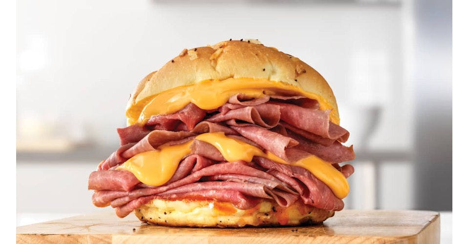 Double Beef 'n Cheddar from Arby's: Oshkosh S Koeller St (6329) in Oshkosh, WI