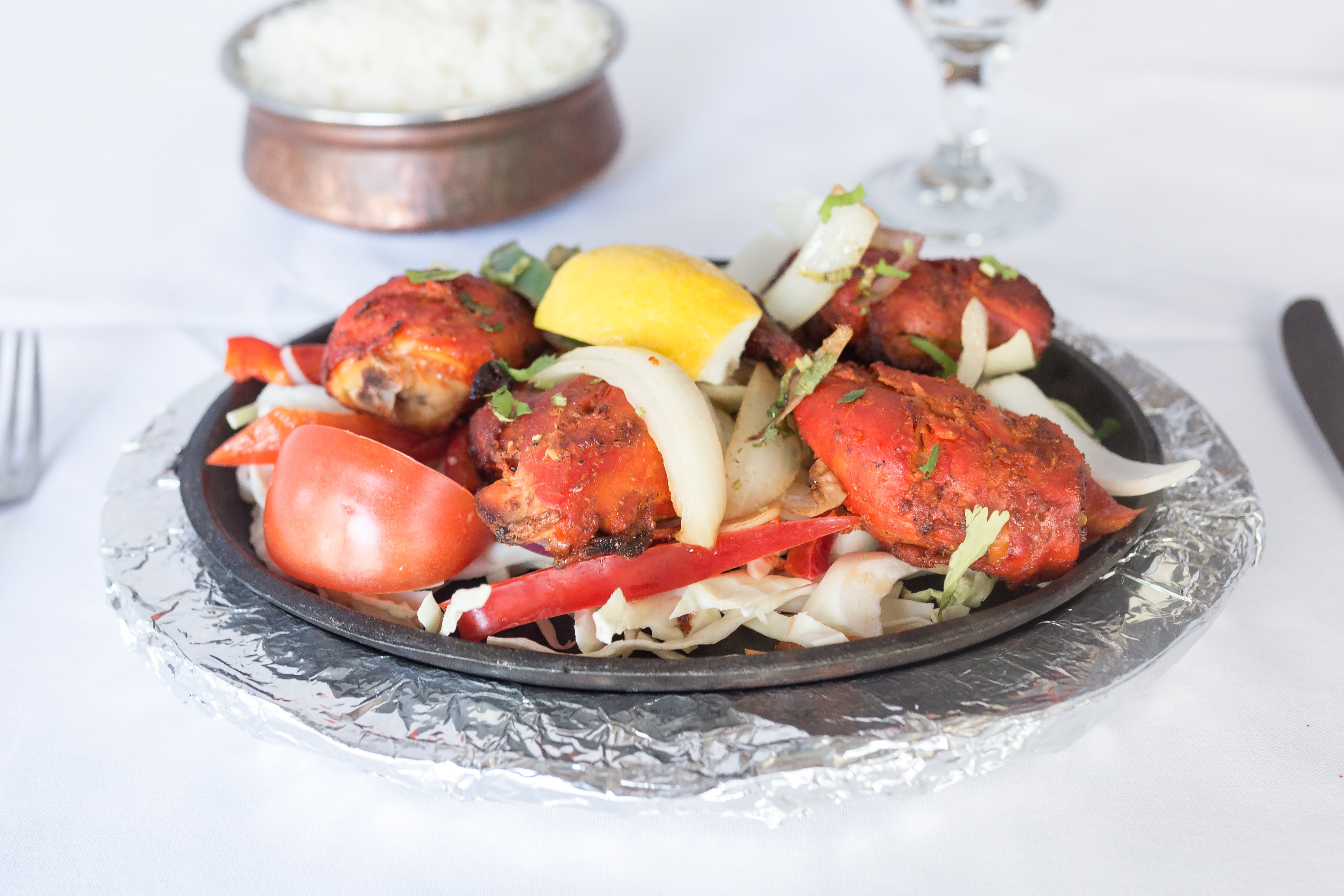 Tandoori Chicken from Bollywood Grill in Milwaukee, WI