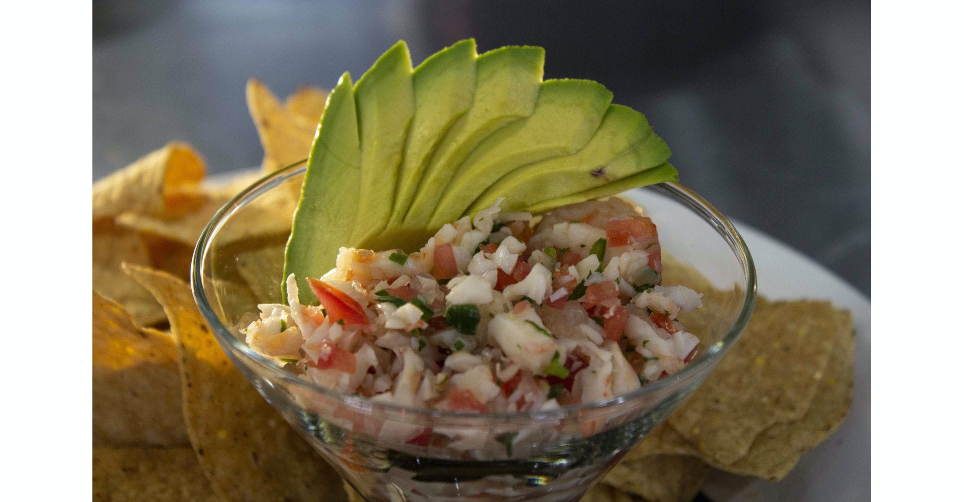 Shrimp Ceviche from Silly Serrano Mexican Restaurant in Eau Claire, WI