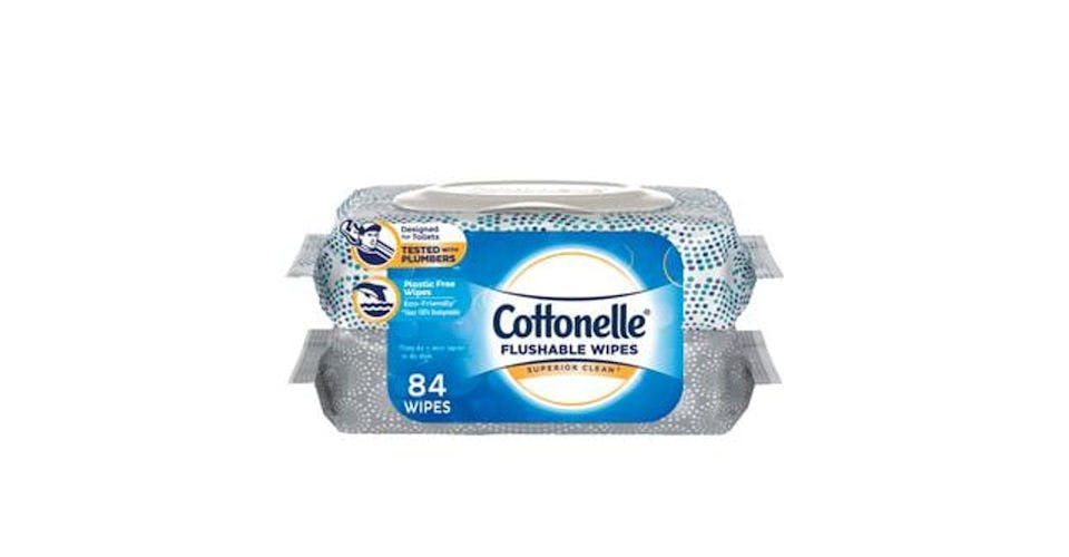 Cottonelle FreshCare Flushable Wet Wipes (84 ct) from CVS - Main St in Green Bay, WI