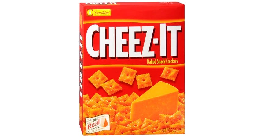 Cheez-It Baked Snack Crackers (7 oz) from EatStreet Convenience - W Mason St in Green Bay, WI