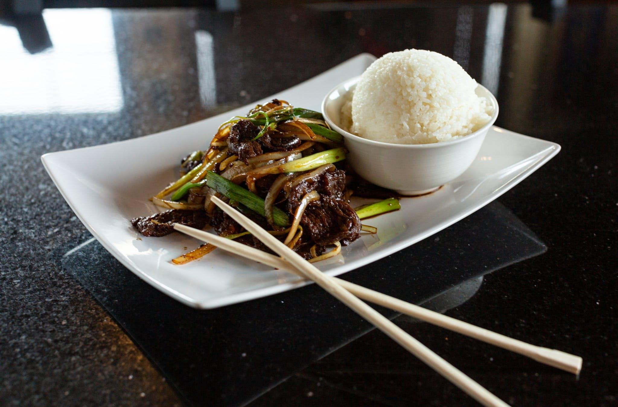 Bulgogi Beef from Oriental Bistro & Grill in Lawrence, KS