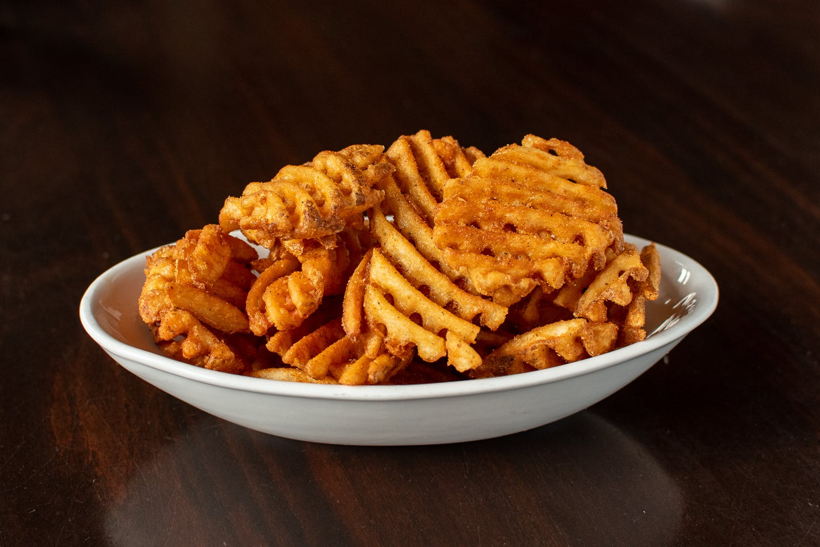 Spicy Waffle Fries from Midcoast Wings - University Ave in Cedar Falls, IA