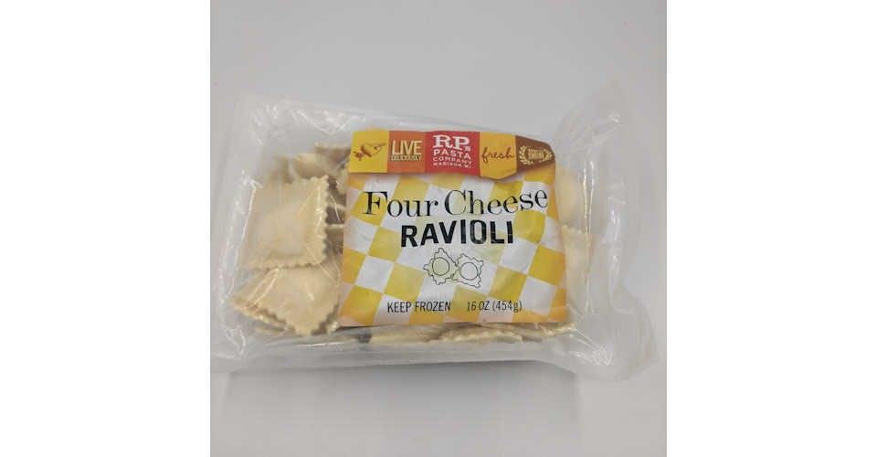 Frozen Ravioli 4 Cheese (16 oz) from Vitruvian Farms in Madison, WI