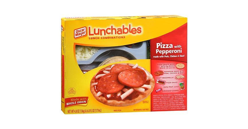Oscar Mayer Lunchables Lunch Combinations Pizza With Pepperoni (11 oz) from EatStreet Convenience - Rose St in La Crosse, WI