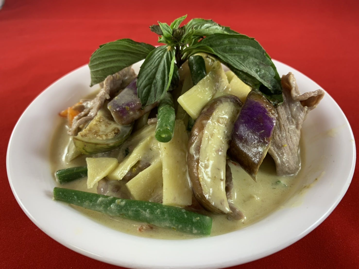 44. Gaeng Ped (Dinner) from Sa-Bai Thong - University Ave in Madison, WI
