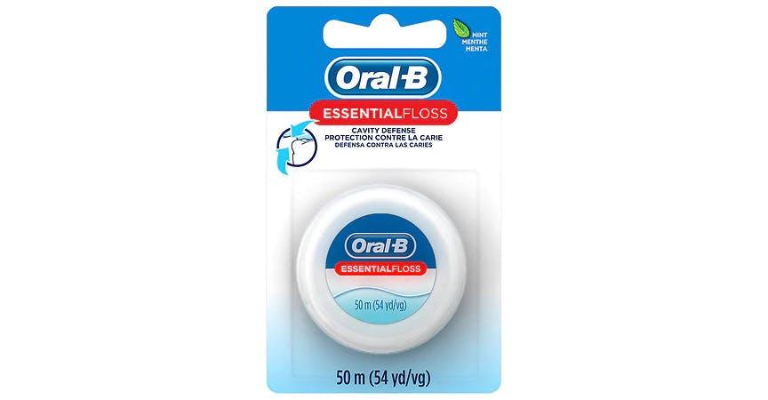Oral-B Essential Floss Mint (54 yd) from EatStreet Convenience - SW Wanamaker Rd in Topeka, KS