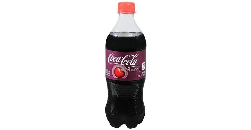 Coca-Cola Wild Cherry Soda (20 oz) from EatStreet Convenience - W Mason St in Green Bay, WI