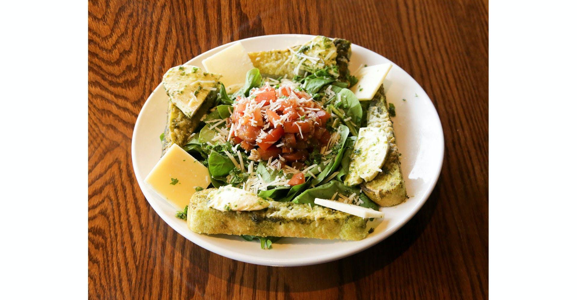 Bruschetta Chicken Salad from Grazies Italian Grill in Stevens Point, WI