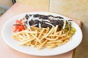 #45. Shish Kafta from Oasis Mediterranean Grill in Ann Arbor, MI