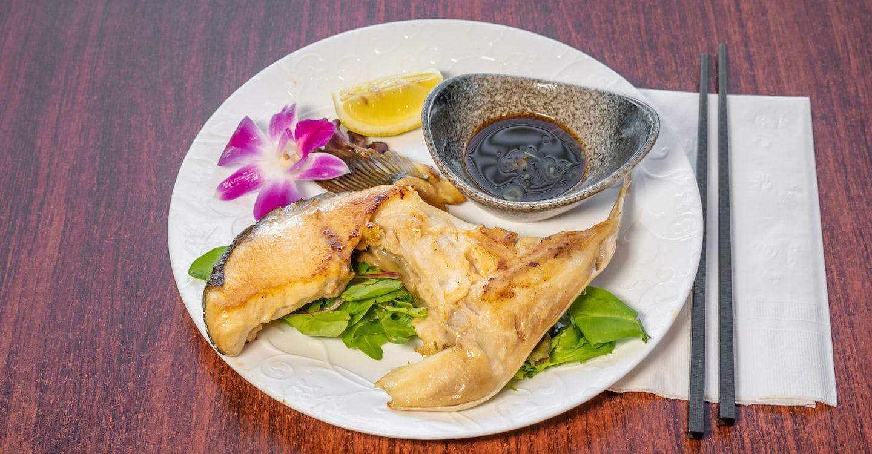 Hamachi Kama from Sakura Sushi in San Rafael, CA