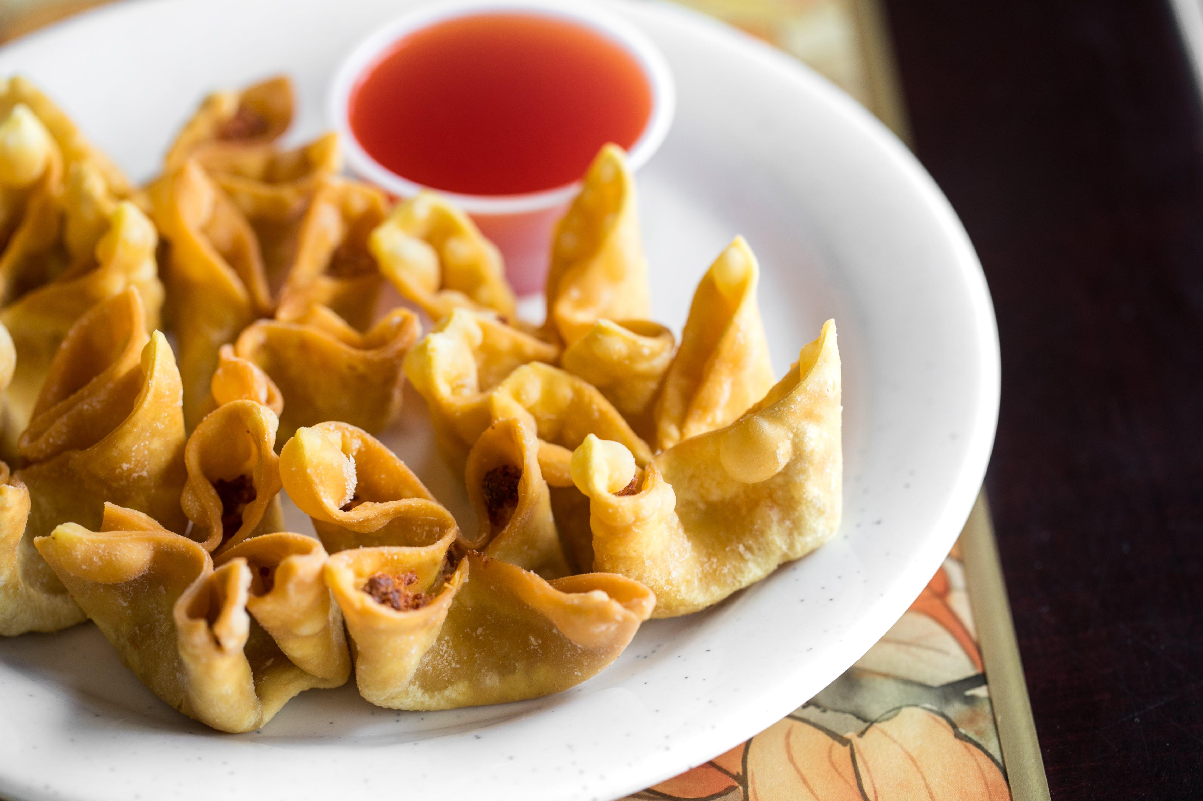 15. Fried Crab Rangoon (8) from Good Taste Chinese Restaurant in Richmond, VA
