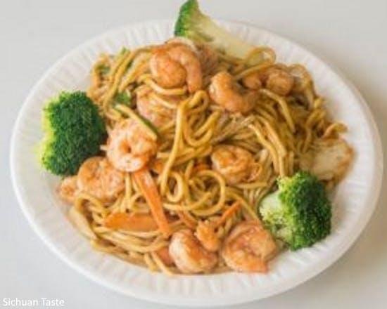 Shrimp Lo Mein from Sichuan Taste in Cockeysville, MD