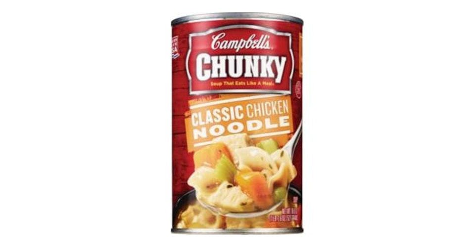 Campbell's Chunky Classic Chicken Noodle Soup (18.6 oz) from CVS - Main St in Green Bay, WI