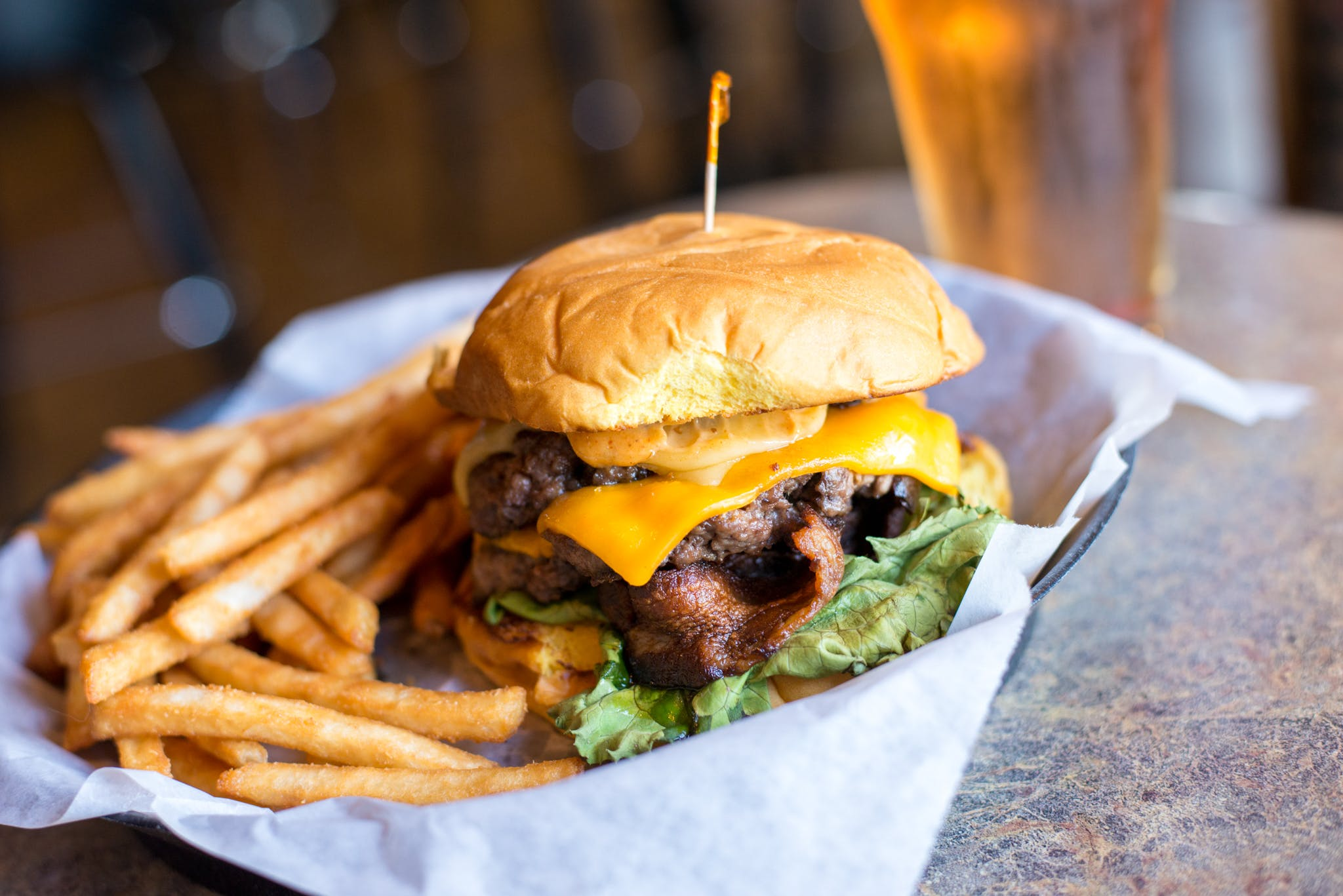 Bacon Cheese from Brickhouse Craft Burgers & Brews in De Pere, WI