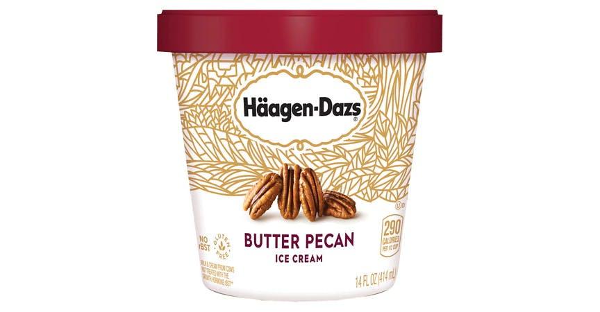 Haagen-Dazs Ice Cream Butter Pecan (14 oz) from EatStreet Convenience - SW Wanamaker Rd in Topeka, KS